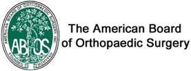 American Board of Orthopeadic Surgery